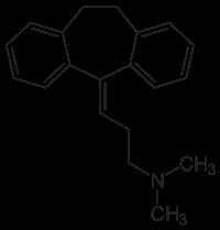 amitriptylin strukturformel