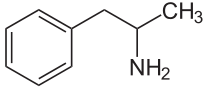 amphetamin strukturformel