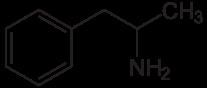 amphetamin strukturformel