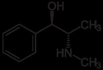 ephedrin strukturformel