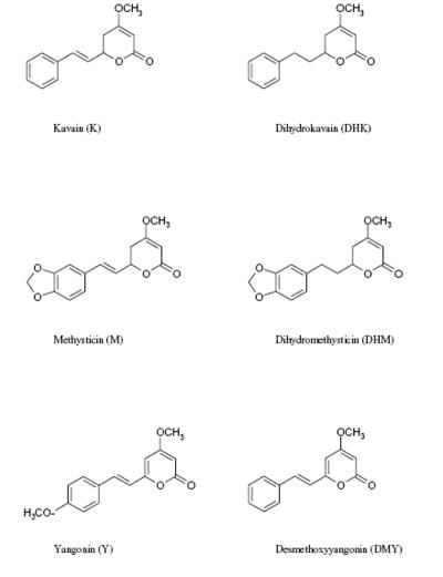 kavapyrone strukturformel