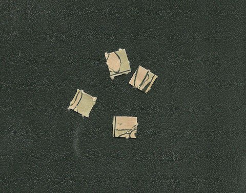 Bedruckte Papierfilze
