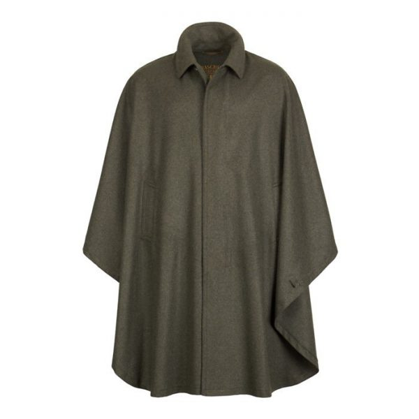 Ein hässlicher, überwurfartiger Mantel