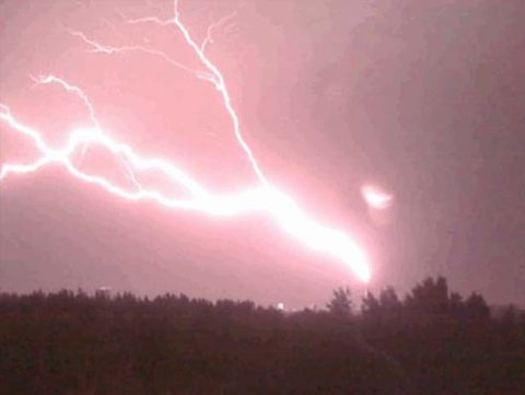 Blitz in den Fernsehturm